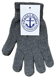 36 Bulk Yacht & Smith Mens Womens, Warm And Stretchy Winter Gloves (36 Pairs Assorted)