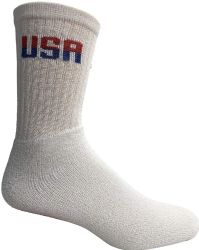 36 Bulk Yacht & Smith Mens Wholesale Bulk Cotton Socks, Athletic Sport Socks Shoe Size 8-12 (white Usa, 36)
