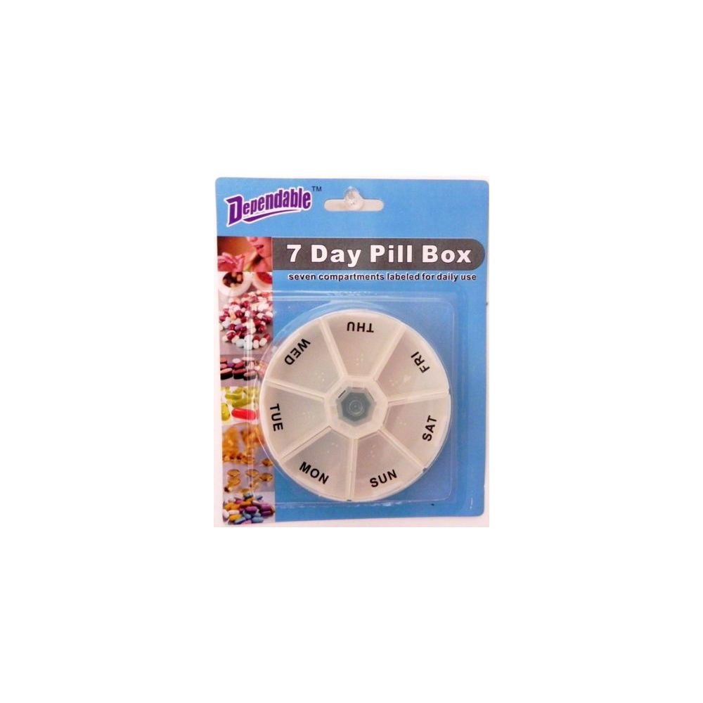 48 Bulk Deluxe 7 Day Pill Box