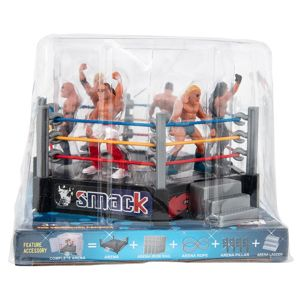 30 Bulk Smack Wrestler Play Set 7 Piece Set