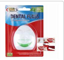 96 Bulk Oral Fusion Dental Floss 120 Yards Mint