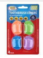 96 Bulk Oral Fusion Toothbrush Head Cover 4 Pack