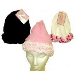 72 Bulk Ladies Chenille Winter Hat