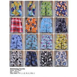 144 Bulk Mens Swimming Trunks
