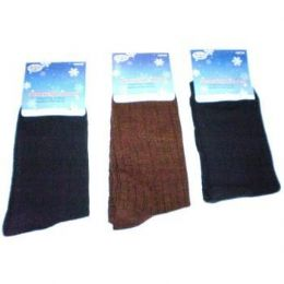 120 Bulk Mens 1 Pair Dress Socks In Assorted Colors