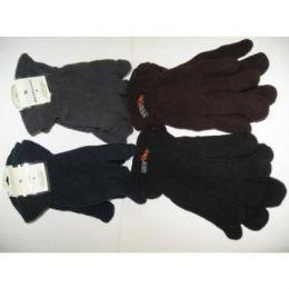 120 Bulk Mens Flecce Winter Gloves