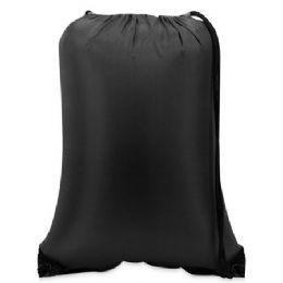 60 Bulk Value Drawstring BackpacK-Black