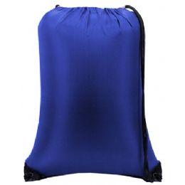 60 Bulk Value Drawstring BackpacK-Royal
