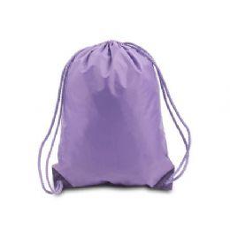 60 Bulk Drawstring Backpack - Lavender