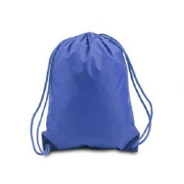 60 Bulk Drawstring Backpack - Royal
