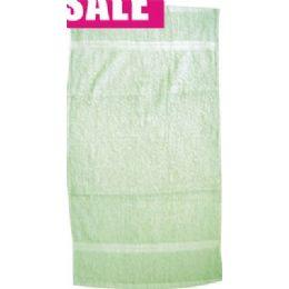 "144 Bulk Towel Sage 25""""x16"