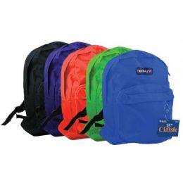 """25 Bulk Bazic 15"""" School Backpack"""
