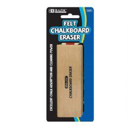 144 Bulk Bazic Felt Chalkboard Eraser