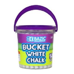 72 Bulk Bazic White Chalk (50/bucket)