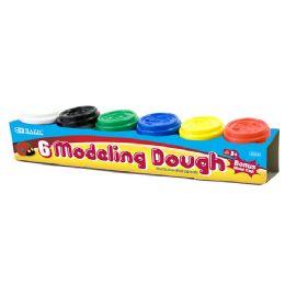 24 Bulk Multi Color Modeling Dough With Bonus Mold Cap