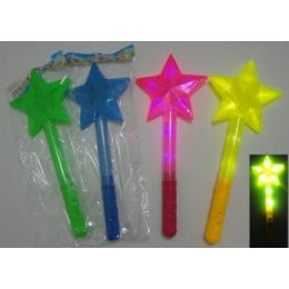 """30 Bulk 15"""" Wand With Large Star"""