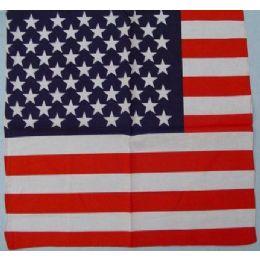 120 Bulk Bandana-American Flag