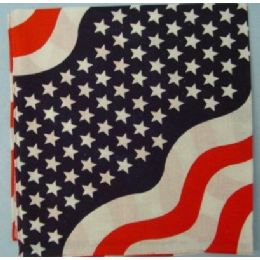120 Bulk Bandana-Americana Wave