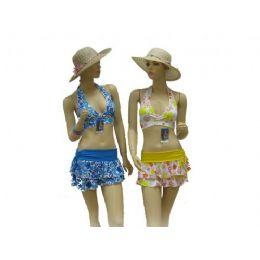 72 Bulk 3 Piece Swimsuit Set