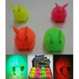 144 Bulk Light Up Rabbit Spike Toy