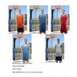 72 Bulk Basketball Jersey Dazzle Top