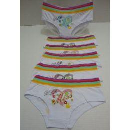 48 Bulk Ladies PantieS-Miss [rainbow Striped Waistband]