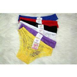 120 Bulk Ladies Lace Panty