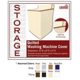 36 Bulk Quilted Washing Machine Cover 4 Assorted Colors