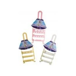 72 Bulk Plastic Shower Caddy (assorted Colors)