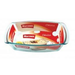 12 Bulk Marinex 1.5l /1.6 Qt. Rectangular Glass Loaf Dish