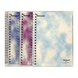 "36 Bulk Wire Notebook - Personal Planner - 120 Sh - 7""x5"" cr"
