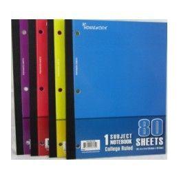 "24 Bulk Wireless Notebook - 80 Sh - 10.5"" X 8"" - cr"