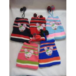 72 Bulk Printed Baby Hat