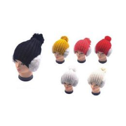 36 Bulk Hat With Earmuffs