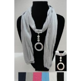 "72 Bulk 68"" Scarf NecklacE-Ring Charm"