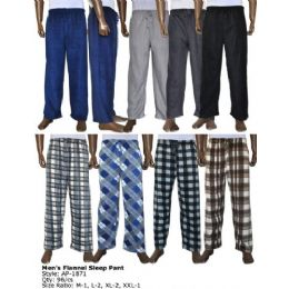 96 Bulk Mens Lounge Fleece Lounge Pants