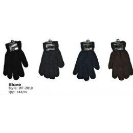144 Bulk Mens Heavy Knit Winter Glove