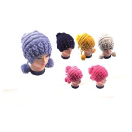 36 Bulk Ladies Pom Pom Hat