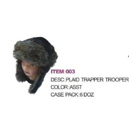 72 Bulk Faux Fur Aviator Winter Hat