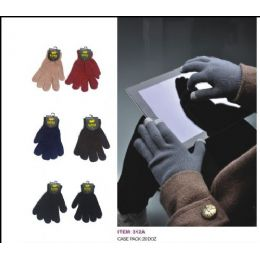 240 Bulk Assorted Colors Texting Glove