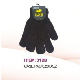 240 Bulk Winter Magic Glove Black