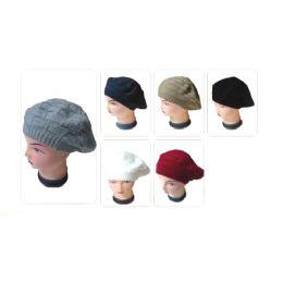 60 Bulk Ladies Fashion Winter Knit Hat