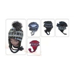 60 Bulk Mohawk Fur Winter Hat