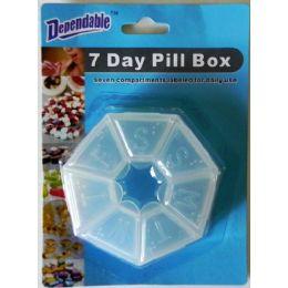 48 Bulk 7 Day Pill Box