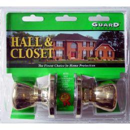 6 Bulk Hall & Closet Doorknob Set