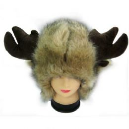 36 Bulk Animal Hat With Horns