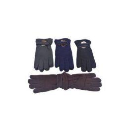 60 Bulk Mens Winter Fleece Gloves