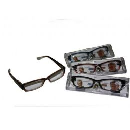 120 Bulk Two Tone Plastic Reading Glass With Case