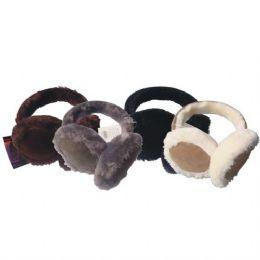 48 Bulk Ear Muff Hd W/ Fur