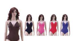 36 Bulk Ladies Bathing Suit On Hanger